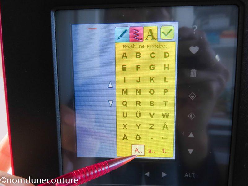 brilliance 75q alphabet capital