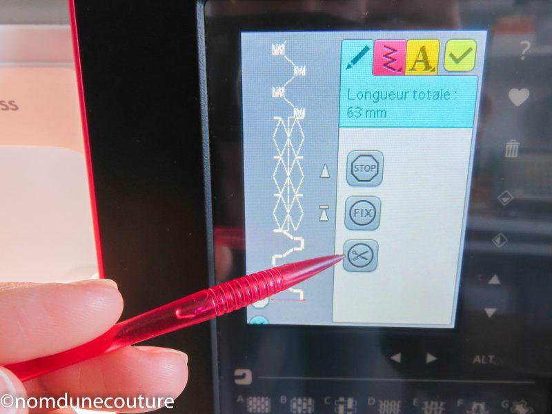 brilliance 75q programmation avec touche coupe fil