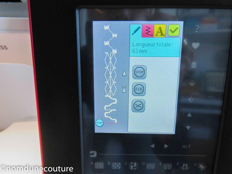 brilliance 75q programmation avec touche stop