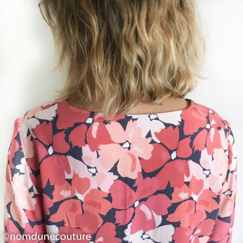 tissu crêpe viscose di fiori mouna sew