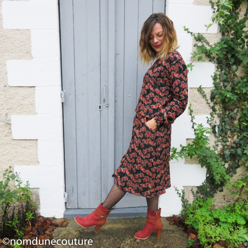 robe divine dress your body et nom d'une couture version simple