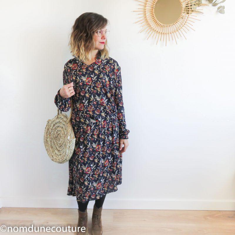 coudre une robe bohème