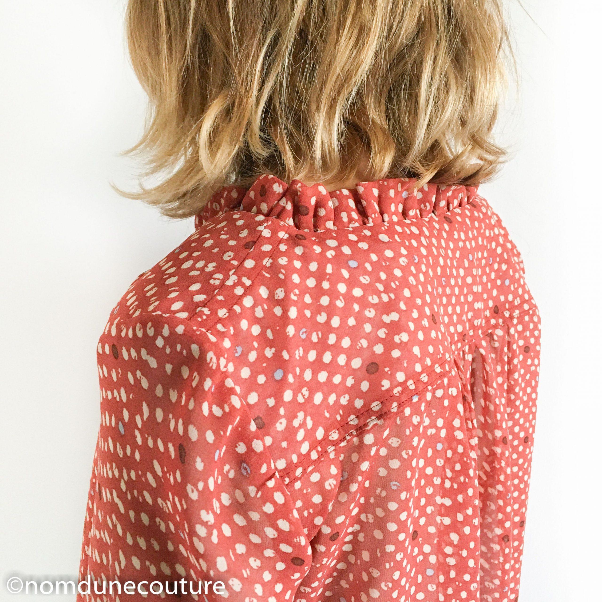détail blouse wendy sophie denys