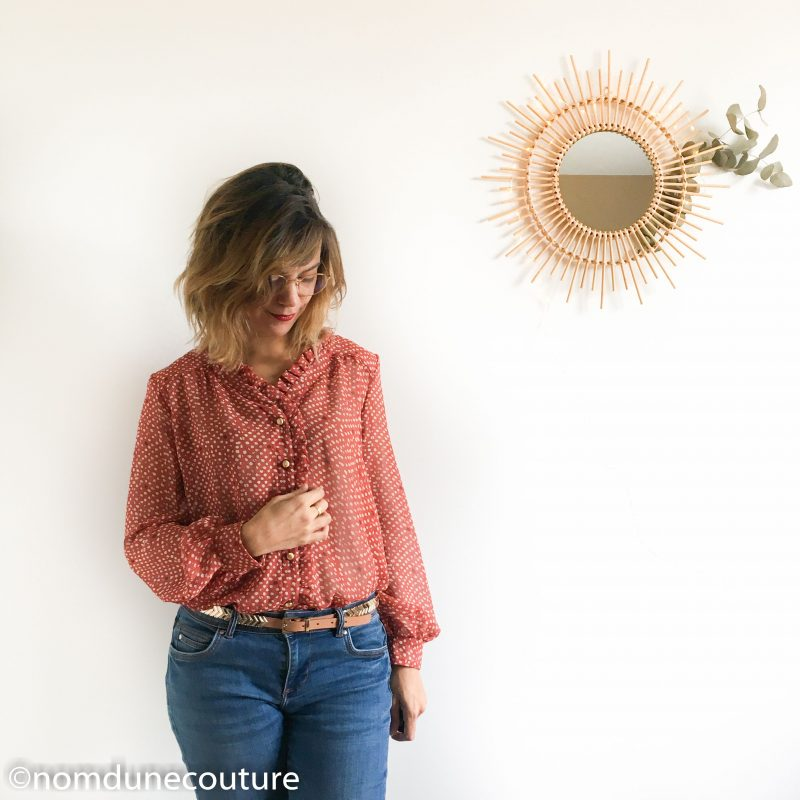 volant blouse wendy sophie denys