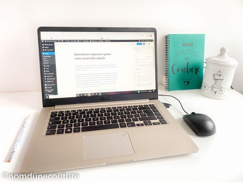 ecrire un article sur le blog