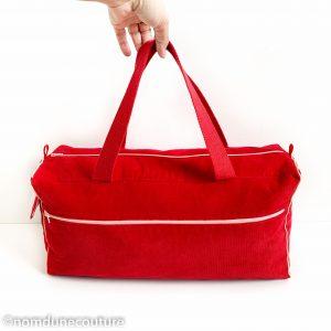 patron de sac avec zip