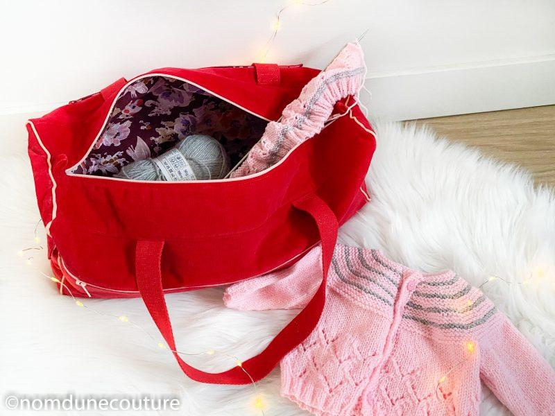 patron de couture sac à tricot simone nomdunecouture