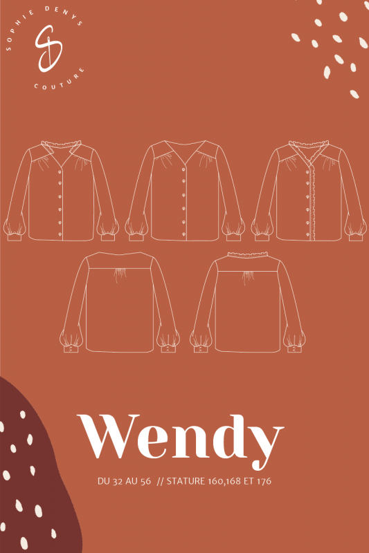 blouse wendy sophie denys