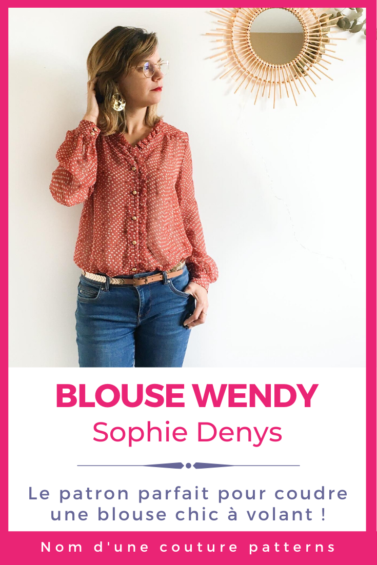 nom d'une couture blouse wendy sophie denys