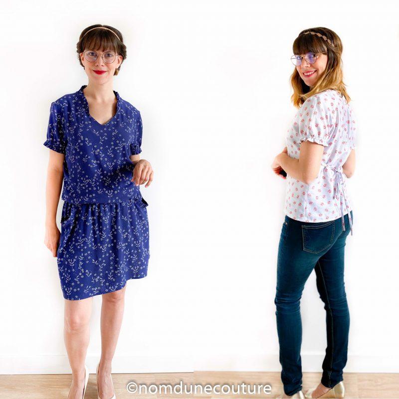 robe divine et tuto blouse divine dress your body