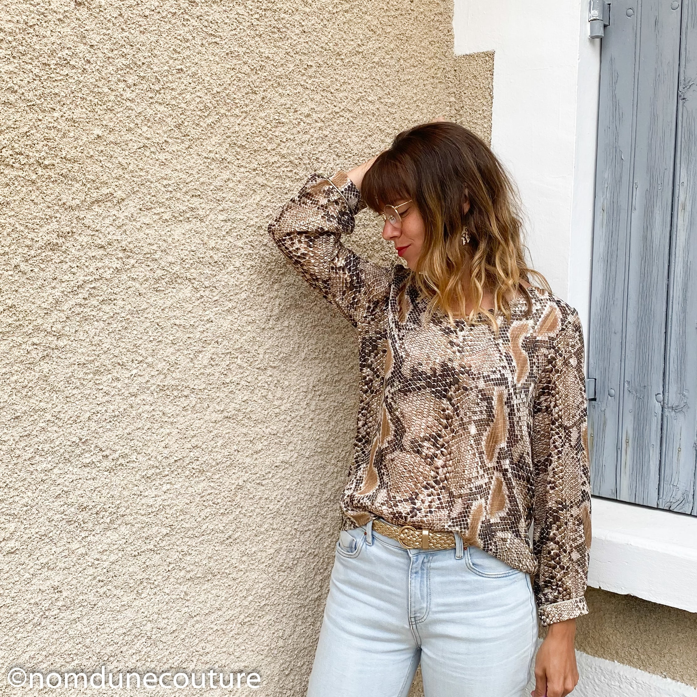 blouse MS oct.19 mouna sew en python
