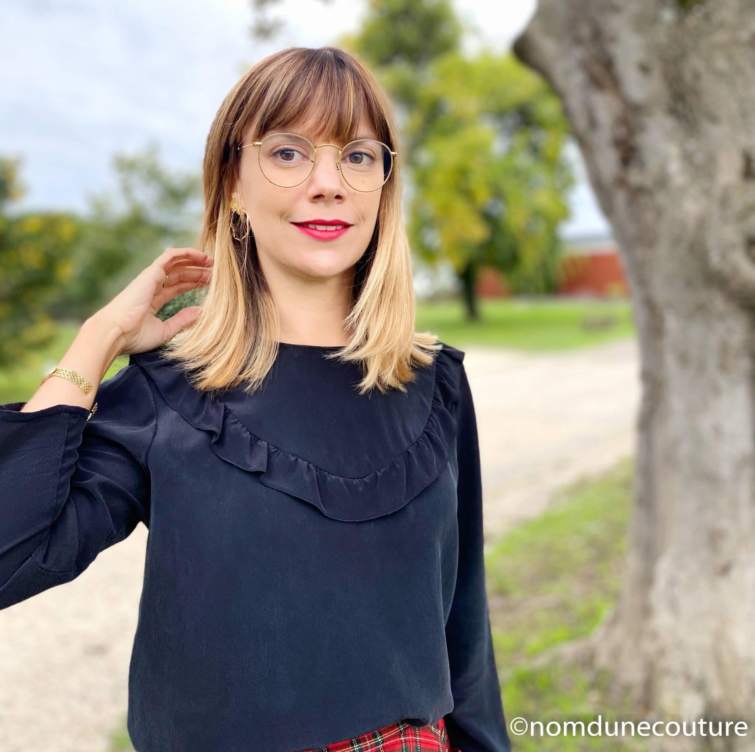 blouse walk like me noire