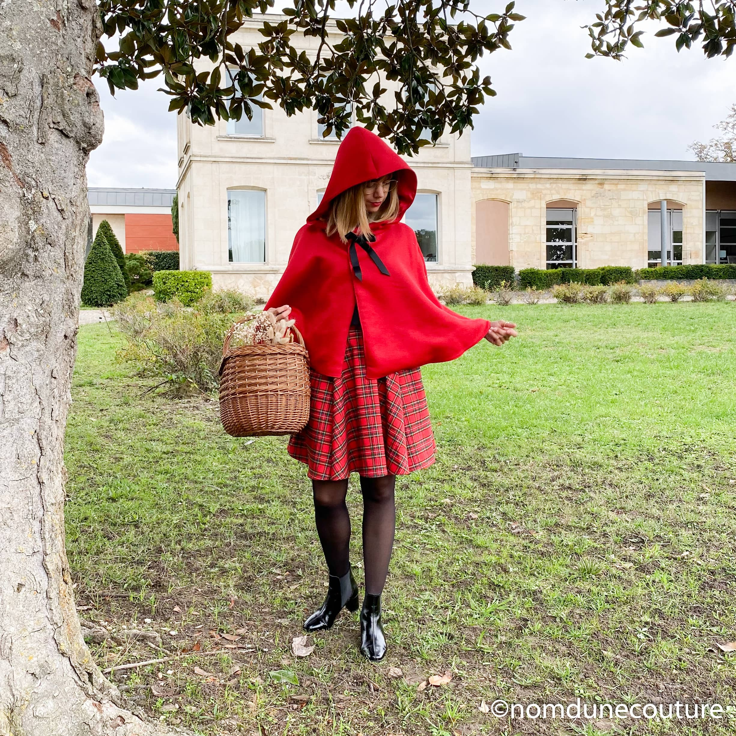 look petit chaperon rouge couture facile