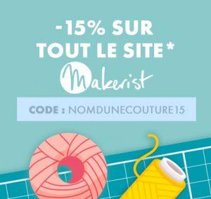 code promo makerist -15 %