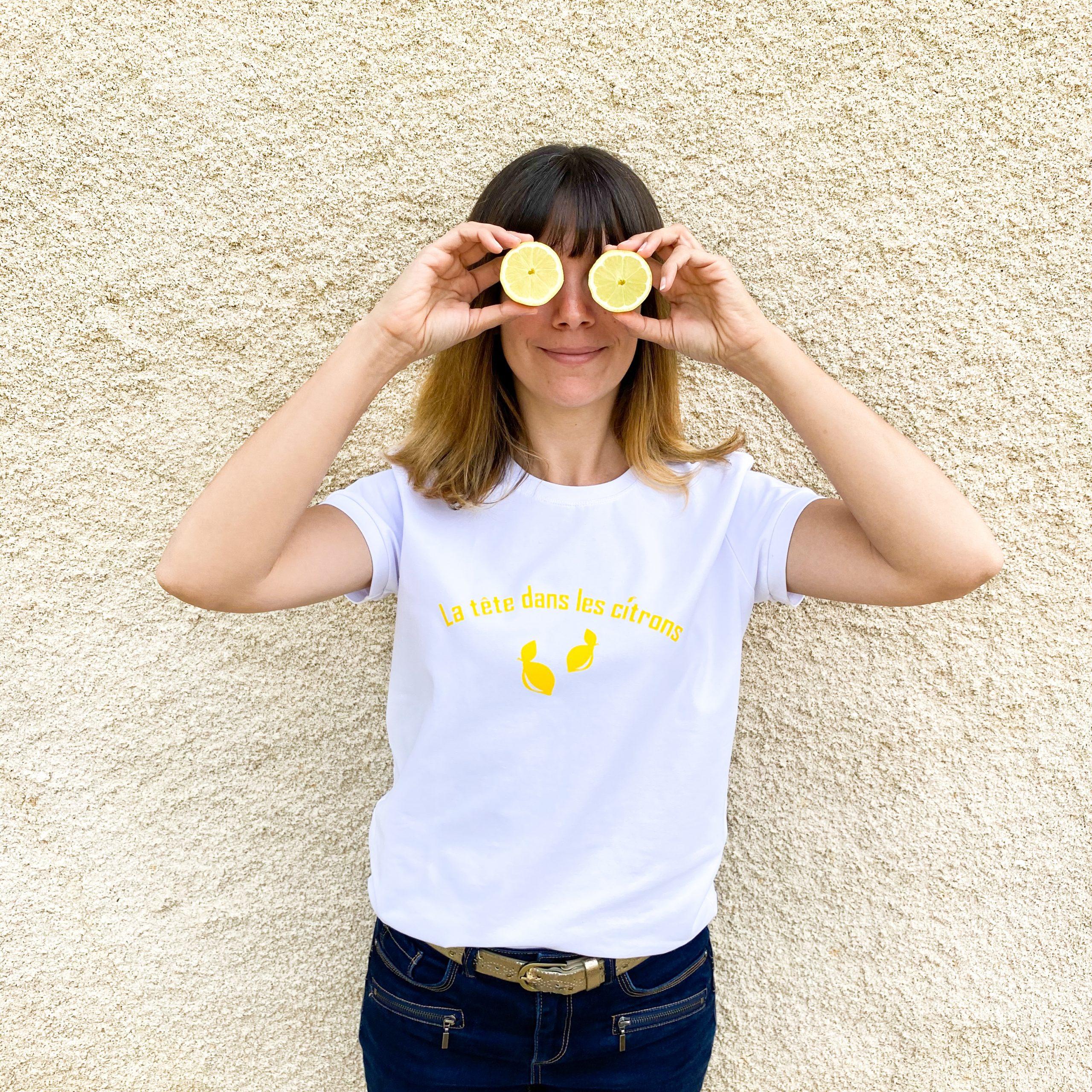 nom d'une couture t-shirt flex cricut maker citron