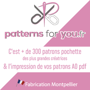 Impression de patron de couture PDF en ligne avec Patterns for your