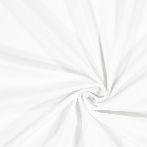 tissu crêpe uni blanc