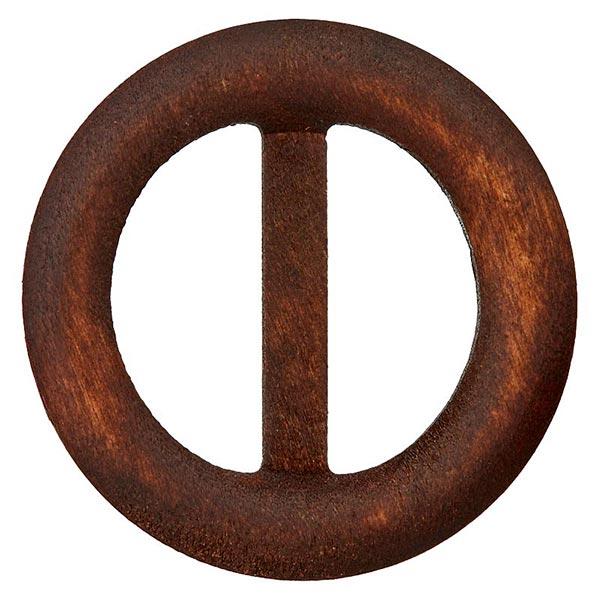 boucle de ceinture en bois marron