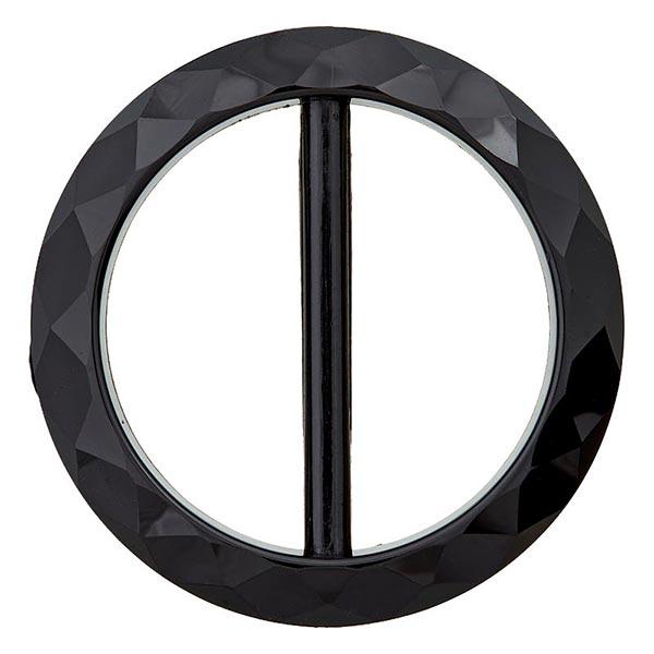 boucle de ceinture noir en polyester