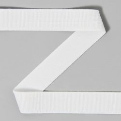 Elastique large blanc 40 mm