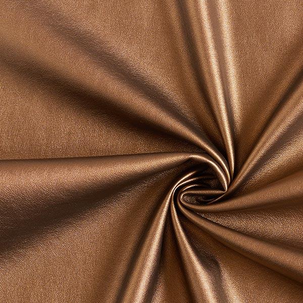 simili cuir lisse bronze