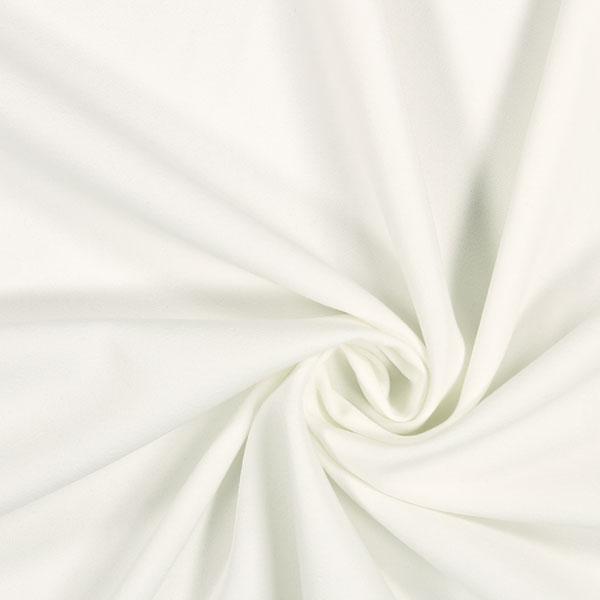 tissu gabardine bi-stretch écru