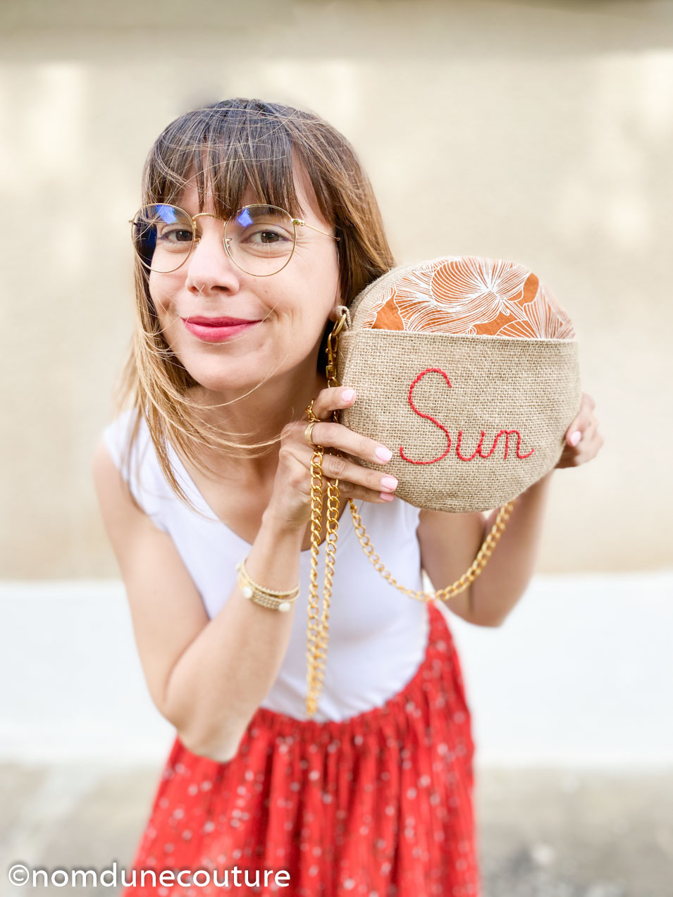 coudre le sac rond sun nom d'une couture