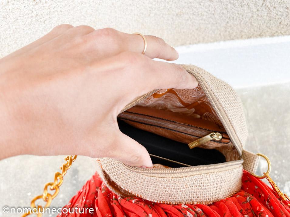 patron de couture sac rond