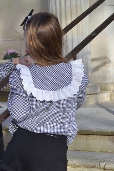 chemise ballada fille la petite frambise