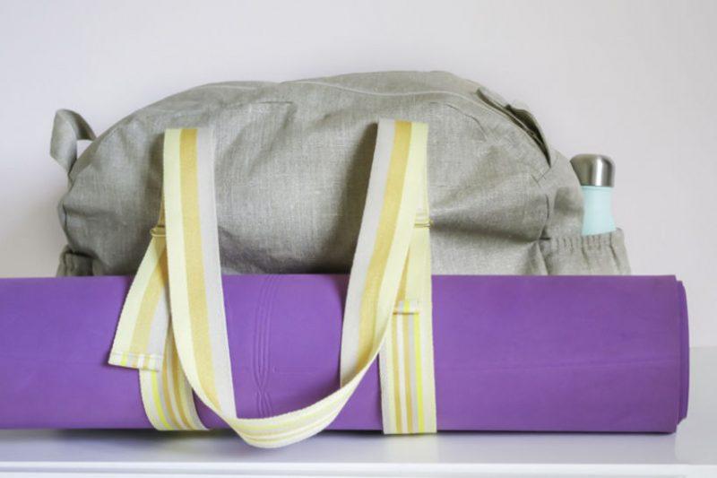 Patron de couture sac Emilie les lubies de louise sac à yoga