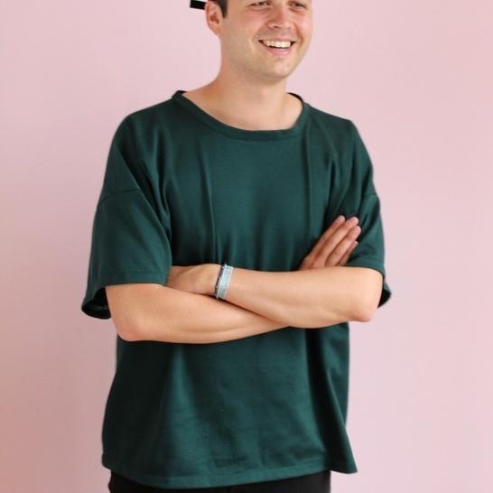 Patron de couture t-shirt Ross Makerist